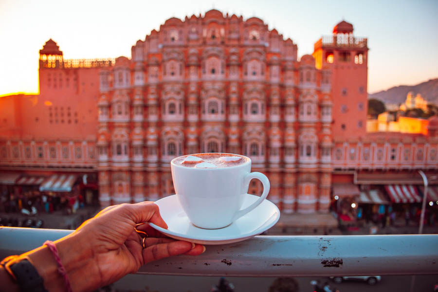 Take Photographs in Front of the Famous Hawa Mahal
