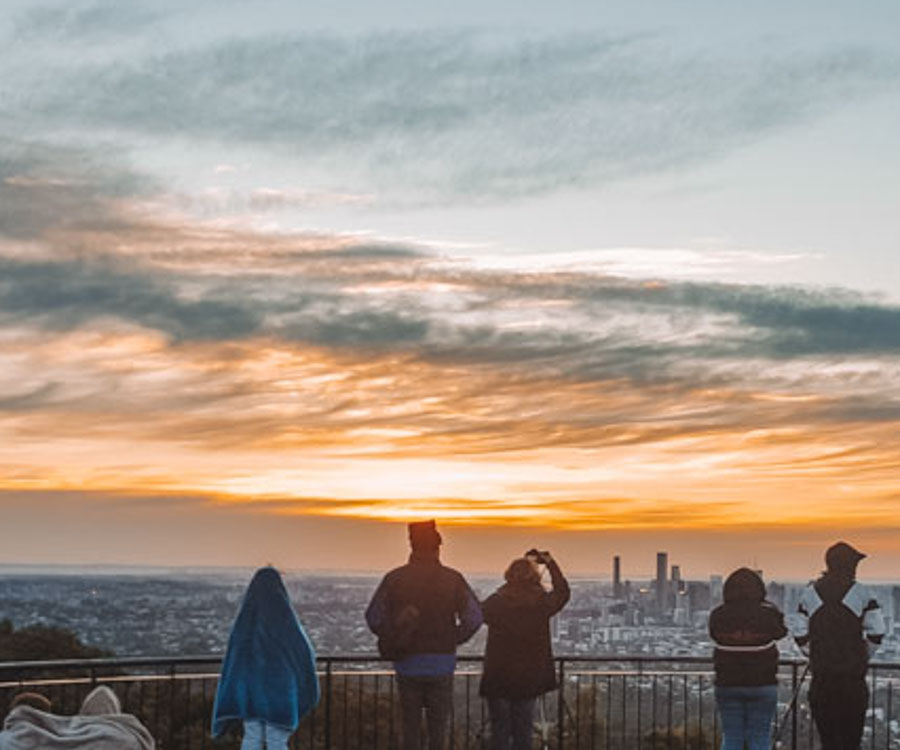 Take in the city views at Mount Coot-Tha